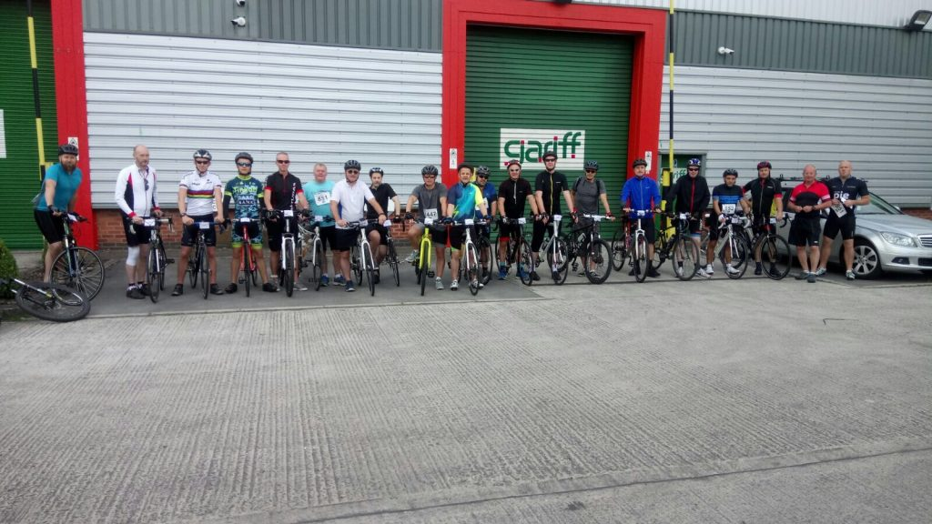 The Christie Bike Ride to Blackpool